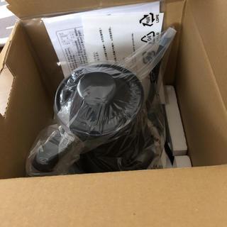 バルミューダ(BALMUDA)の新品 BALMUDA The Pot 黒色 保証有り(電気ケトル)