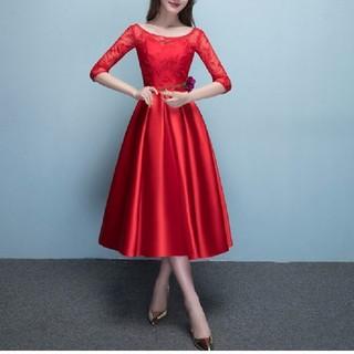 ドレス 赤 2XL(その他ドレス)