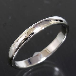 ティファニー(Tiffany & Co.)のティファニー TIFFANY&CO.シンプル プラチナ リング 20号 仕上済(リング(指輪))