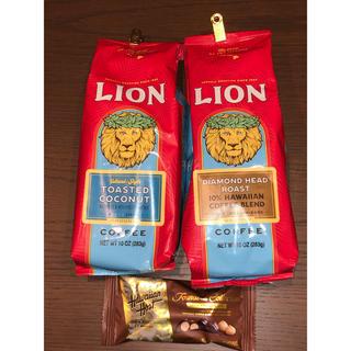ライオン(LION)のライオンコーヒー トーステッドココナッツとダイアモンドヘッドロースト283g(コーヒー)