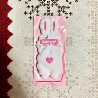 Babypink iPhoneケース うさぎ 白