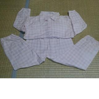 ムジルシリョウヒン(MUJI (無印良品))の無印 二重ガーゼお着替えパジャマ 110~125(パジャマ)