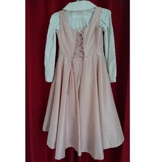 f58bb6ce73020 ベベ(BeBe)の 美品 BEBE バーバリー ドレス セットアップ(ドレス