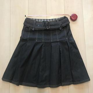 バーバリー(BURBERRY)のバーバリーブラックレーベル スカート(ひざ丈スカート)