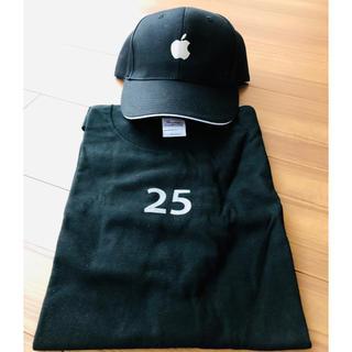 アップル(Apple)のApple Tシャツ&帽子(キャップ)(Tシャツ/カットソー(半袖/袖なし))