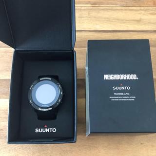 ネイバーフッド(NEIGHBORHOOD)の 期間限定値下げ 保証書付 ネイバーフッド SUUNTOトラバース アルファ(腕時計(デジタル))