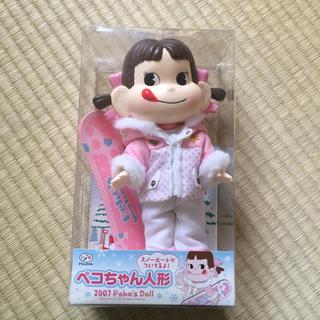 フジヤ(不二家)のペコちゃん人形 スノーボード(その他)