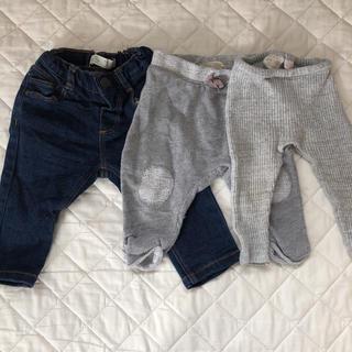 08df7b5e8abe0 ザラキッズ(ZARA KIDS)のzarababy パンツ ズボン レギンス 4枚セット 74 デニム ジーンズ