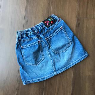 ブリーズ(BREEZE)のデニムスカート 130(スカート)