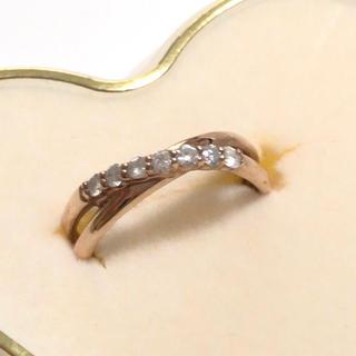 ジュエリーツツミ(JEWELRY TSUTSUMI)のK10 ツツミ 指輪 リング(リング(指輪))