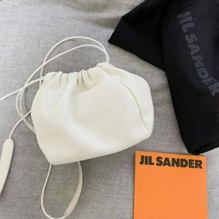ジルサンダー(Jil Sander)の新品完売 ジルサンダー Jil Sander DRAWSTRING 巾着バッグ(ショルダーバッグ)