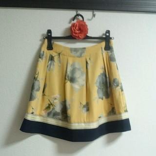 チェスティ(Chesty)のchesty 花柄 フラワー スカート(ミニスカート)