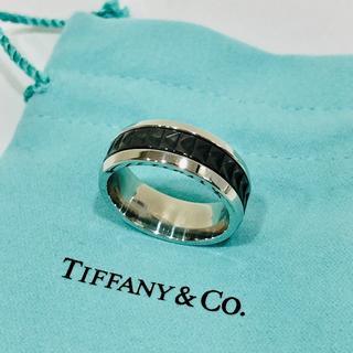 ティファニー(Tiffany & Co.)の【未使用品】ティファニー パロマキャリパーリング スチール×チタン(リング(指輪))