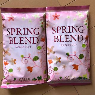 カルディ(KALDI)のカルディ スプリングブレンド (中挽き)2袋セット(コーヒー)