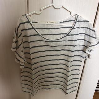 マジェスティックレゴン(MAJESTIC LEGON)のボーダートップス(Tシャツ(半袖/袖なし))