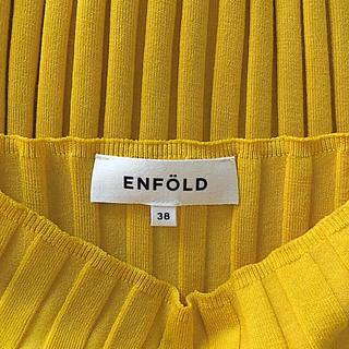 エンフォルド(ENFOLD)のENFOLDエンフォルド ノースリーブ リブニット(ニット/セーター)