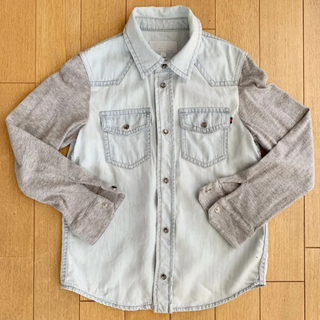 グッチ(Gucci)のグッチ デニムシャツ 120 6 冷房対策(Tシャツ/カットソー)