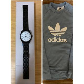 アディダス(adidas)のadidas トレーナー&腕時計(腕時計(アナログ))