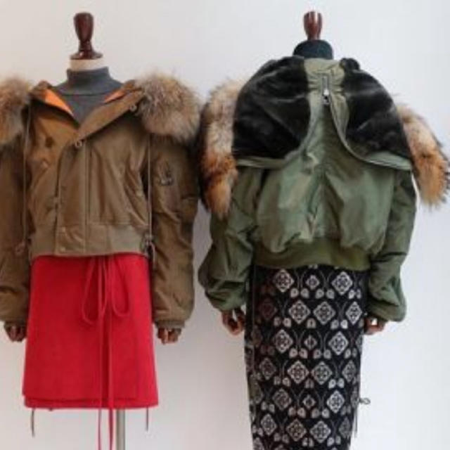 G.V.G.V.(ジーヴィジーヴィ)のGVGV N2-B JACKET  美品 レディースのジャケット/アウター(ブルゾン)の商品写真