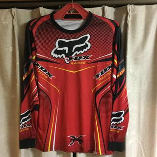 FOX フォックス モトクロス バイク オートバイ 長袖Tシャツ スポーツウェア