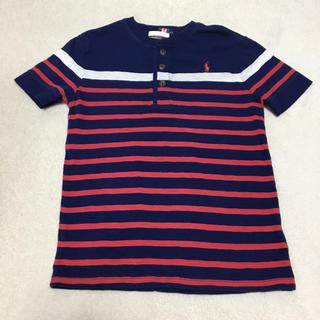 ポロラルフローレン(POLO RALPH LAUREN)の【美品】ポロラルフローレン ♡ 半袖 Tシャツ(Tシャツ/カットソー)