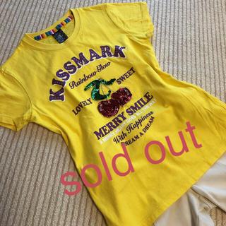 キスマーク(kissmark)のTシャツ(Tシャツ(半袖/袖なし))