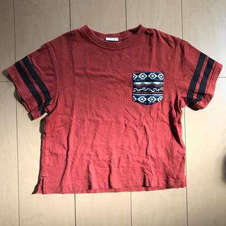 ジーユー(GU)のオルテガ柄ポケットTシャツ(Tシャツ/カットソー)