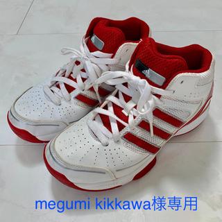 アディダス(adidas)のadidas 23.5cm ハイカットシューズ(シューズ)
