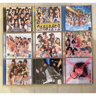 エヌエムビーフォーティーエイト(NMB48)のNMB48DVD付きシングルCD8枚  特典生写真、トレカ付き(ポップス/ロック(邦楽))