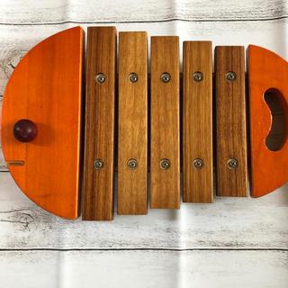ボーネルンド(BorneLund)のボーネルンド  おさかな形シロフォン  バチなし(楽器のおもちゃ)