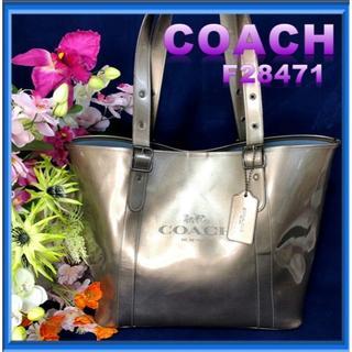 d45524314d4a 財布 COACH. ¥10,000. コーチ(COACH)のCOACH バッグ トートバッグ F28471 シルバーグレー大容量(トート