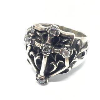 シルバー925 25号 アラベスクシールドクロスリング Silver925(リング(指輪))