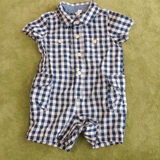 1d3ac0b947f6d babygap ギンガムチェック ショートボディシャツ ロンパース ベビー. ¥2