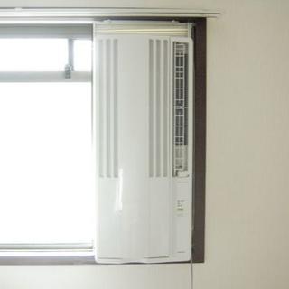 コロナ - CORONA コロナ 窓用エアコン ウインドエアコン 枠・リモコン・取説付き