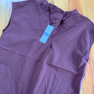 ジーユー(GU)のGU  スキッパーブラウス(シャツ/ブラウス(半袖/袖なし))