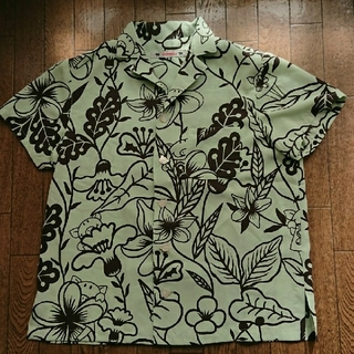 アルベロ(ALBERO)のボタンダウン半袖シャツ(シャツ/ブラウス(半袖/袖なし))
