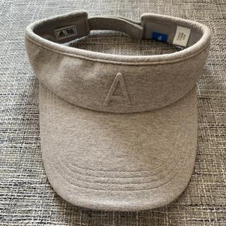 アディダス(adidas)の夏用 adidas サンバイザー(キャップ)