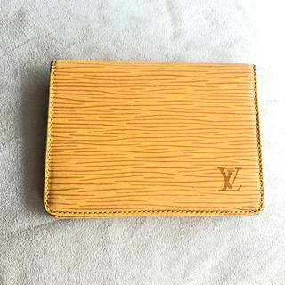 ルイヴィトン(LOUIS VUITTON)のカードケース パスケース ルイヴィトン(パスケース/IDカードホルダー)