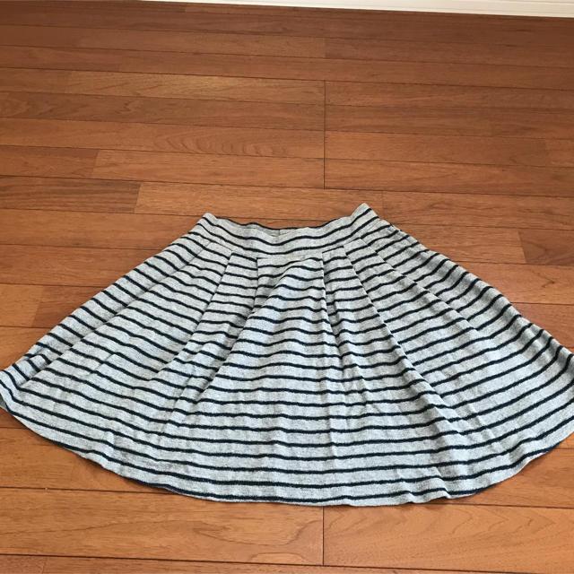 GU(ジーユー)のGU スカート ボーダー  M レディースのスカート(ミニスカート)の商品写真