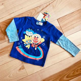 バンダイ(BANDAI)の【新品】お値下げ!アンパンマン★長袖  80(Tシャツ)