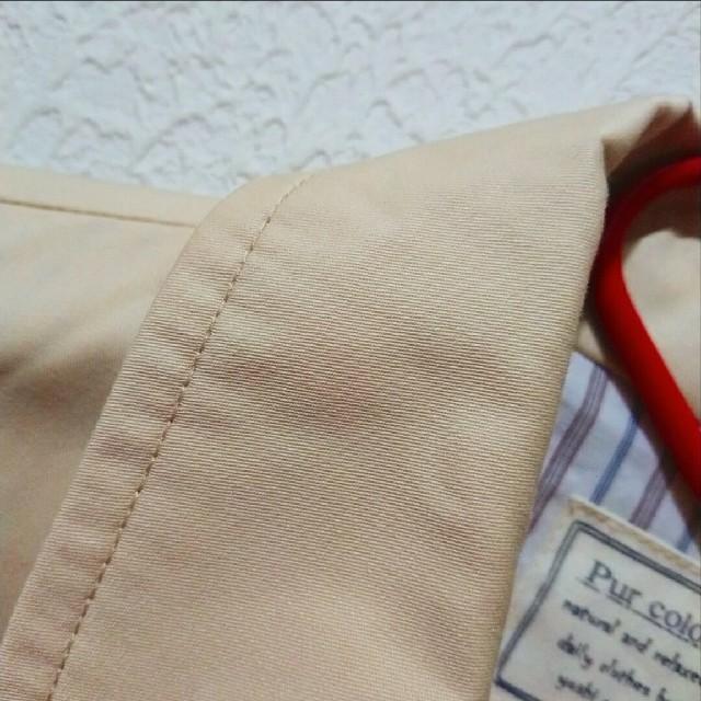 しまむら(シマムラ)の新品 しまむら トレンチコート♥️Lサイズ ユニクロ GU レディースのジャケット/アウター(トレンチコート)の商品写真