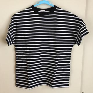 ジーユー(GU)のGU ボーダー Tシャツ  150センチ(Tシャツ/カットソー)