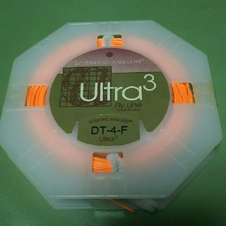 ultra3 フライライン DT-4-F 新品未使用(釣り糸/ライン)