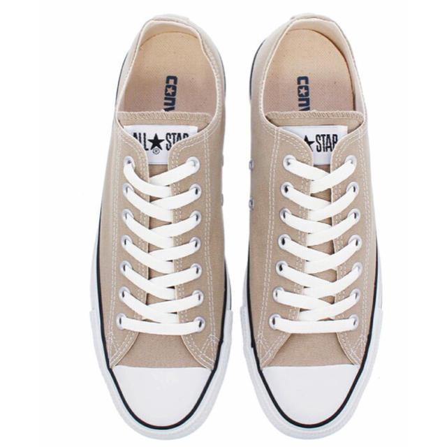 CONVERSE(コンバース)のコンバース CONVERSE ALLSTAR ベージュ 24.5 レディースの靴/シューズ(スニーカー)の商品写真