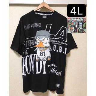 カズロックオリジナル(KAZZROCK ORIGINAL)の新品タグ付き 大きいサイズ4L カズロック オリジナル Tシャツ 黒(Tシャツ/カットソー(半袖/袖なし))