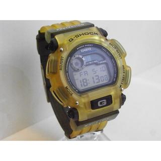 カシオ(CASIO)のCASIO G-SHOCK G-LIDE DW-9000 クリアー  イエロー系(腕時計(デジタル))