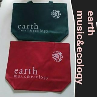 アースミュージックアンドエコロジー(earth music & ecology)のearth  music&ecology  トートバッグ(トートバッグ)