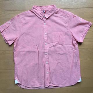 ジーユー(GU)の【新品】GU 半袖シャツ(シャツ/ブラウス(半袖/袖なし))
