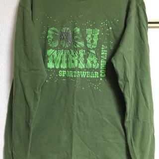 コロンビア(Columbia)のColumbia ロンT 緑色(Tシャツ/カットソー(七分/長袖))