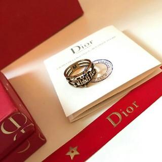 クリスチャンディオール(Christian Dior)のDIOR   指輪(リング(指輪))